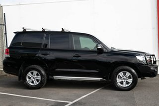 2017 Toyota Landcruiser VDJ200R GXL Black 6 Speed Sports Automatic Wagon.
