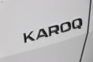 2019 Skoda Karoq NU MY19 110TSI DSG FWD White 7 Speed Sports Automatic Dual Clutch Wagon.