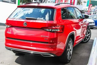 2019 Skoda Kodiaq NS MY19 132TSI DSG Sportline Red 7 Speed Sports Automatic Dual Clutch Wagon