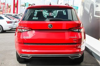 2019 Skoda Kodiaq NS MY19 132TSI DSG Sportline Red 7 Speed Sports Automatic Dual Clutch Wagon.