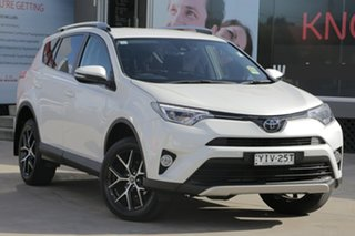 2018 Toyota RAV4 ASA44R MY18 GXL (4x4) Pearl White 6 Speed Automatic Wagon