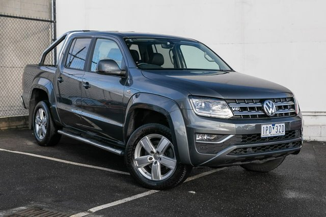 Used Volkswagen Amarok 2H MY17 TDI550 4MOTION Perm Highline, 2016 Volkswagen Amarok 2H MY17 TDI550 4MOTION Perm Highline Grey 8 Speed Automatic Utility