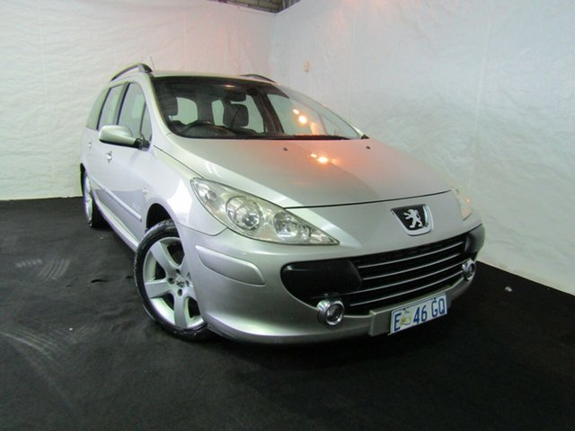 Used Peugeot 307 T6 OXYGO Touring HDi, 2006 Peugeot 307 T6 OXYGO Touring HDi Gold 6 Speed Sports Automatic Wagon
