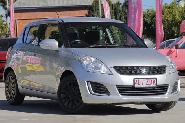 Used Suzuki Swift FZ MY15 GL, 2015 Suzuki Swift FZ MY15 GL Silver 4 Speed Automatic Hatchback