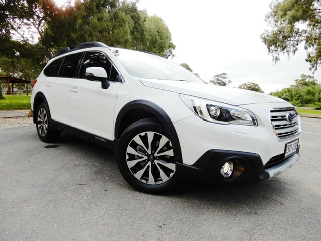 Used Subaru Outback B6A MY17 2.0D CVT AWD Premium, 2017 Subaru Outback B6A MY17 2.0D CVT AWD Premium White 7 Speed Constant Variable Wagon