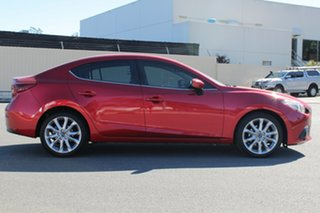 2014 Mazda 3 BM5238 SP25 SKYACTIV-Drive GT Soul Red 6 Speed Sports Automatic Sedan.