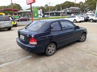 2002 Hyundai Accent LC GL Blue 5 Speed Manual Hatchback