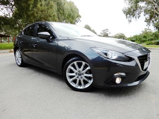 2013 Mazda 3 BM5236 SP25 SKYACTIV-MT GT Dark Grey 6 Speed Manual Sedan.