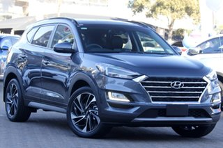 2020 Hyundai Tucson TL3 MY21 Highlander D-CT AWD Pepper Gray 7 Speed Sports Automatic Dual Clutch.