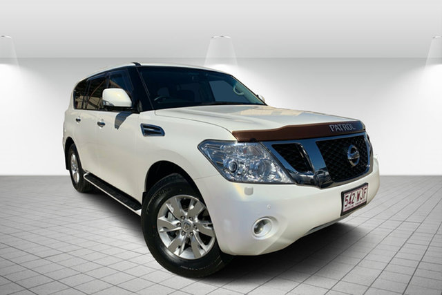 Used Nissan Patrol Y62 TI-L, 2012 Nissan Patrol Y62 TI-L White 7 Speed Sports Automatic Wagon