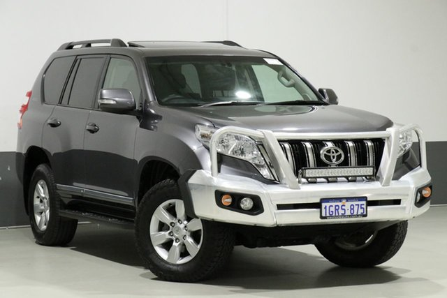 Used Toyota Landcruiser Prado KDJ150R MY14 Altitude (4x4), 2015 Toyota Landcruiser Prado KDJ150R MY14 Altitude (4x4) Graphite 5 Speed Sequential Auto Wagon