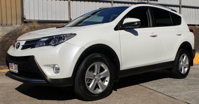 Used Toyota RAV4 ALA49R Cruiser AWD, 2013 Toyota RAV4 ALA49R Cruiser AWD White 6 Speed Sports Automatic Wagon