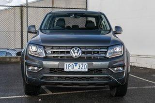 2016 Volkswagen Amarok 2H MY17 TDI550 4MOTION Perm Highline Grey 8 Speed Automatic Utility.