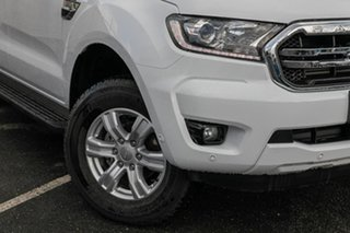 2018 Ford Ranger PX MkIII 2019.00MY XLT Pick-up Double Cab White 6 Speed Sports Automatic Utility