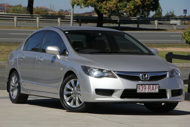 Used Honda Civic 8th Gen MY10 VTi-L, 2010 Honda Civic 8th Gen MY10 VTi-L Silver 5 Speed Automatic Sedan