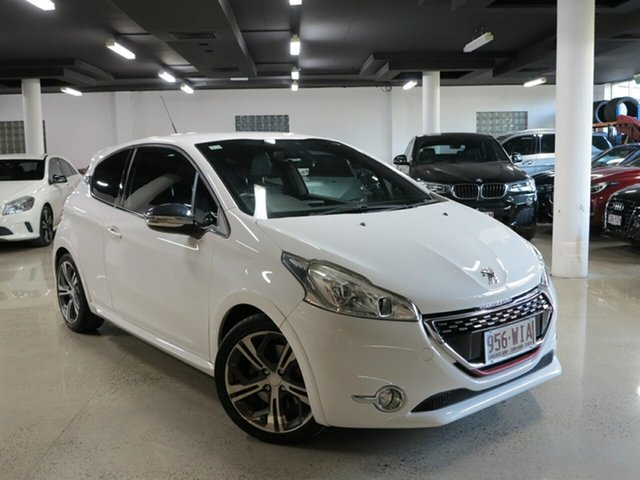 Used Peugeot 208 A9 MY14 GTi, 2014 Peugeot 208 A9 MY14 GTi White 6 Speed Manual Hatchback