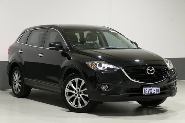 Used Mazda CX-9 MY14 Grand Touring, 2014 Mazda CX-9 MY14 Grand Touring Black 6 Speed Auto Activematic Wagon
