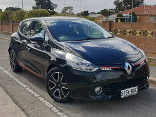 2013 Renault Clio IV B98 Expression EDC Black 6 Speed Sports Automatic Dual Clutch Hatchback