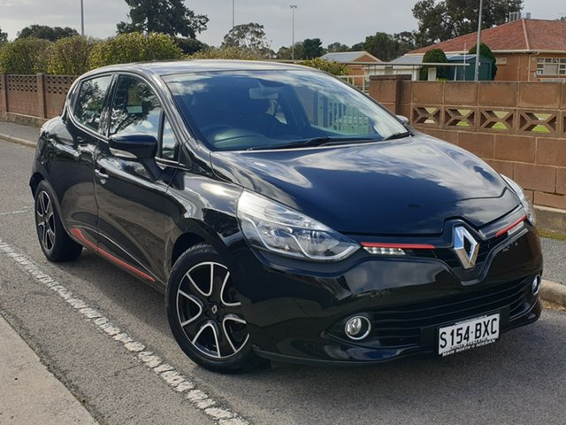 Used Renault Clio IV B98 Expression EDC, 2013 Renault Clio IV B98 Expression EDC Black 6 Speed Sports Automatic Dual Clutch Hatchback