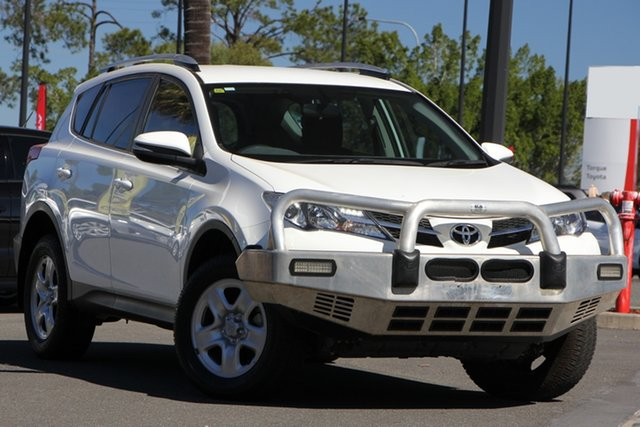 Used Toyota RAV4 ZSA42R GX 2WD, 2015 Toyota RAV4 ZSA42R GX 2WD White 7 Speed Constant Variable Wagon