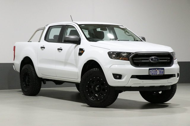 Used Ford Ranger PX MkIII MY19 XLS 3.2 (4x4), 2018 Ford Ranger PX MkIII MY19 XLS 3.2 (4x4) White 6 Speed Automatic Double Cab Pickup