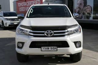 2018 Toyota Hilux GUN126R MY19 SR5 (4x4) Pearl White 6 Speed Automatic Double Cab Pickup