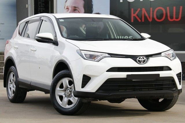 Used Toyota RAV4 ASA44R GX AWD, 2016 Toyota RAV4 ASA44R GX AWD White 6 Speed Sports Automatic Wagon