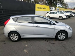 2015 Hyundai Accent RB3 MY16 Active Sleek Silver 6 Speed Constant Variable Hatchback