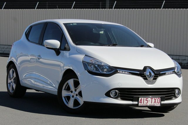 Used Renault Clio IV B98 Expression, 2014 Renault Clio IV B98 Expression White 5 Speed Manual Hatchback