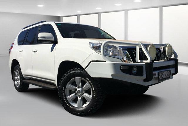 Used Toyota Landcruiser Prado KDJ150R MY14 GXL (4x4), 2014 Toyota Landcruiser Prado KDJ150R MY14 GXL (4x4) Glacier White 5 Speed Sequential Auto Wagon
