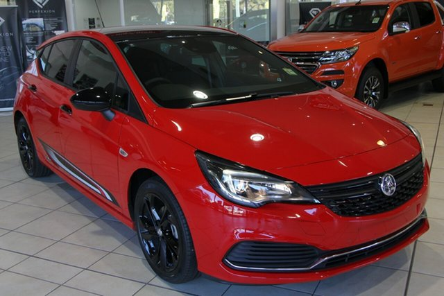 New Holden Astra BK MY19 RS, 2019 Holden Astra BK MY19 RS Absolute Red 6 Speed Sports Automatic Hatchback
