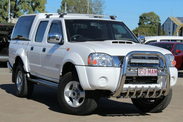 Used Nissan Navara D22 MY2010 ST-R, 2010 Nissan Navara D22 MY2010 ST-R White 5 Speed Manual Utility