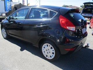 2013 Ford Fiesta WZ Ambiente PwrShift Black 6 Speed Sports Automatic Dual Clutch Hatchback.