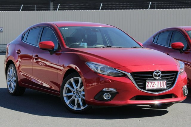 Used Mazda 3 BM5238 SP25 SKYACTIV-Drive GT, 2014 Mazda 3 BM5238 SP25 SKYACTIV-Drive GT Soul Red 6 Speed Sports Automatic Sedan