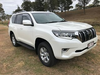 2019 Toyota Landcruiser Prado GDJ150R GXL Crystal Pearl 6 Speed Sports Automatic Wagon.