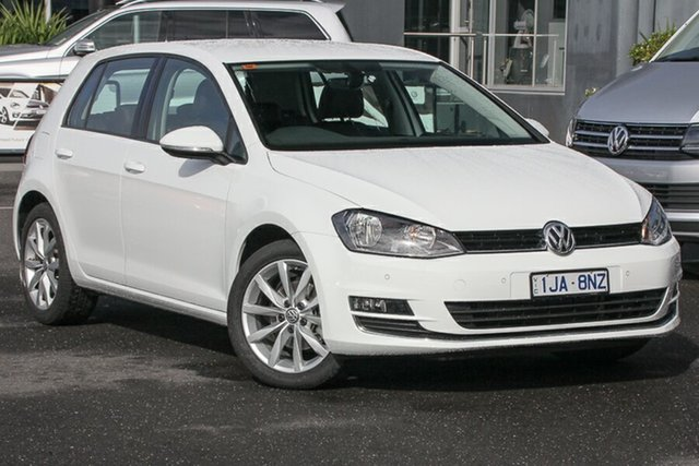 Used Volkswagen Golf VII MY17 110TDI DSG Highline, 2017 Volkswagen Golf VII MY17 110TDI DSG Highline White 6 Speed Sports Automatic Dual Clutch
