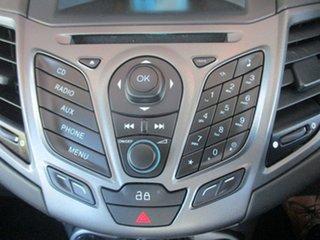 2013 Ford Fiesta WZ Ambiente PwrShift Black 6 Speed Sports Automatic Dual Clutch Hatchback