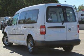 2014 Volkswagen Caddy 2KN MY15 TDI250 BlueMOTION Maxi DSG White 7 Speed Sports Automatic Dual Clutch.