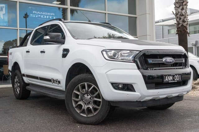Used Ford Ranger PX MkII FX4 Double Cab, 2017 Ford Ranger PX MkII FX4 Double Cab 6 Speed Sports Automatic Utility