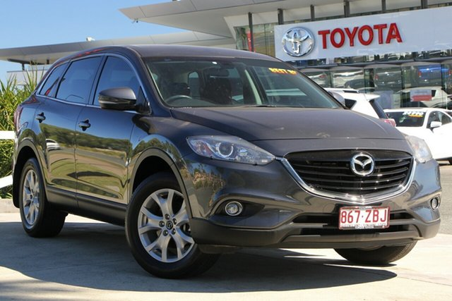 Used Mazda CX-9 TB10A5 Classic Activematic, 2015 Mazda CX-9 TB10A5 Classic Activematic Dark Grey 6 Speed Sports Automatic Wagon