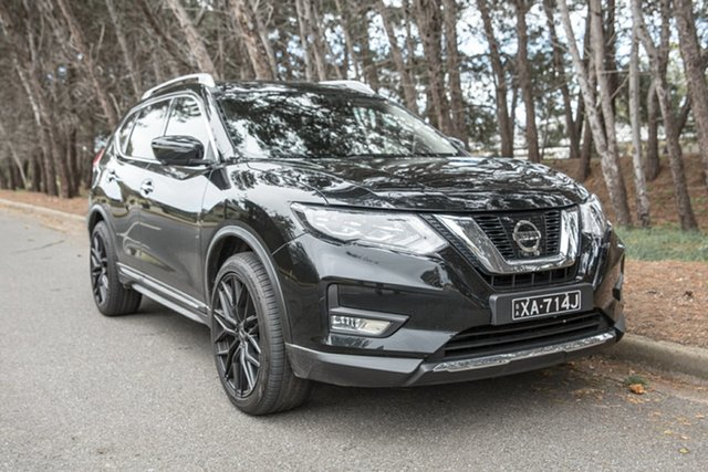 Demo Nissan X-Trail T32 Series II Ti X-tronic 4WD, 2018 Nissan X-Trail T32 Series II Ti X-tronic 4WD Diamond Black 7 Speed Constant Variable Wagon