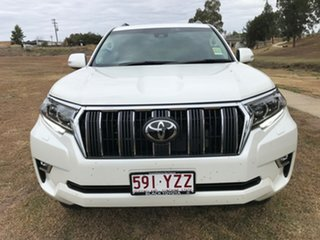 2019 Toyota Landcruiser Prado GDJ150R GXL Crystal Pearl 6 Speed Sports Automatic Wagon