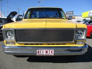 1977 Chevrolet C10 SCOTTSDALE Yellow Utility