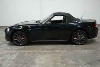 2016 Abarth 124 348 Spider Black 6 Speed Manual Roadster.