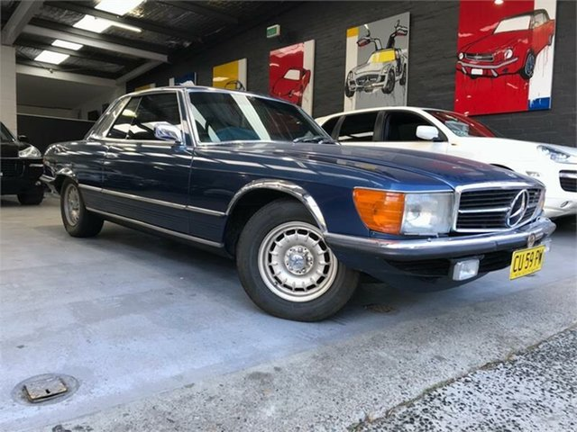 Used Mercedes-Benz 450SLC C107 , 1974 Mercedes-Benz 450SLC C107 Blue Automatic Coupe