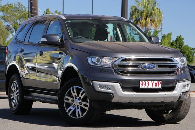 Used Ford Everest UA 2018.00MY Trend 4WD, 2018 Ford Everest UA 2018.00MY Trend 4WD Grey 6 Speed Sports Automatic Wagon