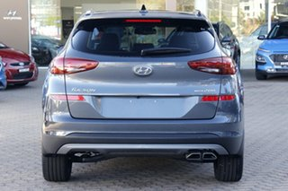 2020 Hyundai Tucson TL3 MY21 Highlander D-CT AWD Pepper Gray 7 Speed Sports Automatic Dual Clutch