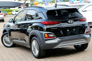 2020 Hyundai Kona OS.3 MY20 Elite 2WD Phantom Black Pearl 6 Speed Sports Automatic Wagon.
