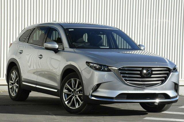 New Mazda CX-9 TC GT SKYACTIV-Drive Liverpool, 2021 Mazda CX-9 TC GT SKYACTIV-Drive Sonic Silver 6 Speed Sports Automatic Wagon