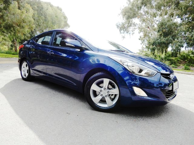 Used Hyundai Elantra MD Elite, 2012 Hyundai Elantra MD Elite Blue 6 Speed Sports Automatic Sedan